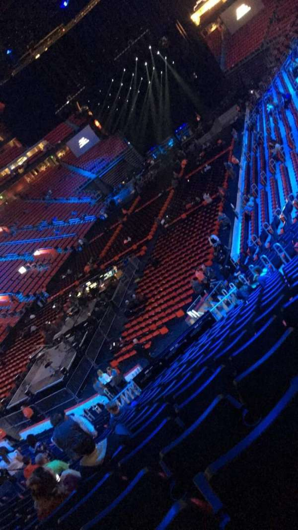 Little Caesars Arena, Abschnitt: 114, Reihe: 23, Platz: 12