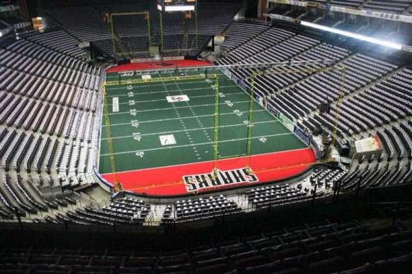 VyStar Veterans Memorial Arena, Abschnitt: 313, Reihe: F, Platz: 7