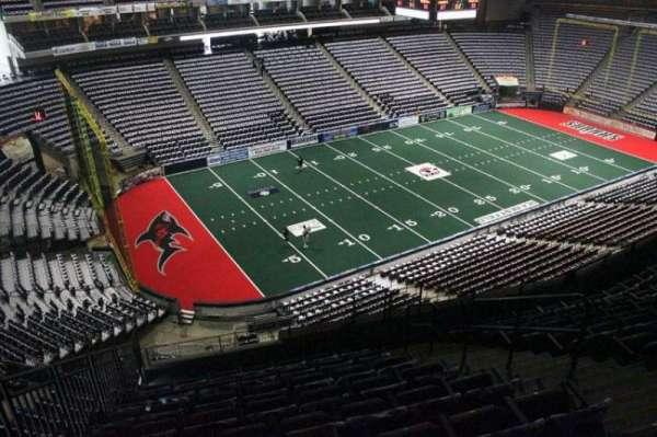 VyStar Veterans Memorial Arena, Abschnitt: 324, Reihe: G, Platz: 6