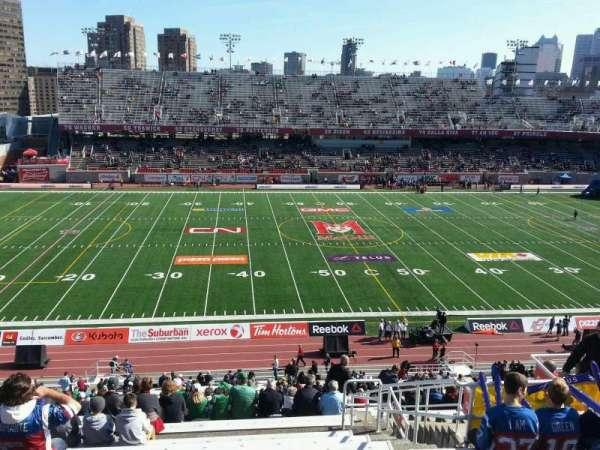 Percival Molson Memorial Stadium, Bereich: h2, Reihe: 9, Platz: 13