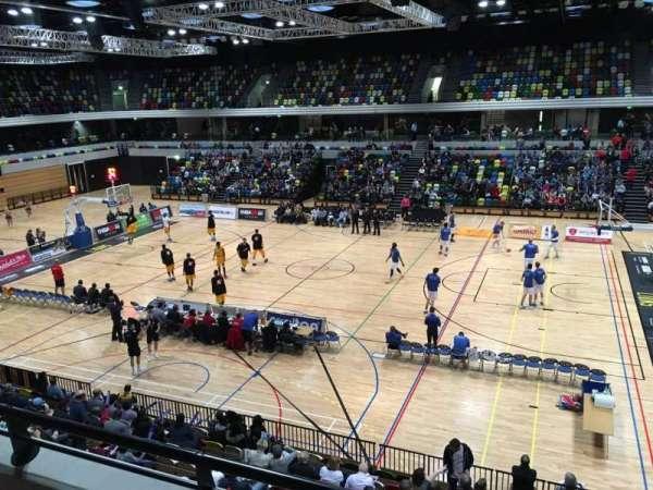 Copper Box Arena, Abschnitt: 203, Reihe: 12, Platz: 56