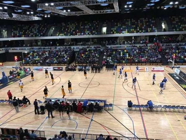 Copper Box Arena, Abschnitt: 204, Reihe: 12, Platz: 68