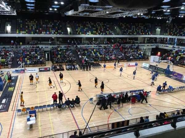 Copper Box Arena, Abschnitt: 205, Reihe: 13, Platz: 101
