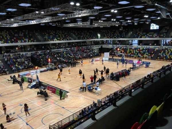 Copper Box Arena, Abschnitt: 206, Reihe: 13, Platz: 138