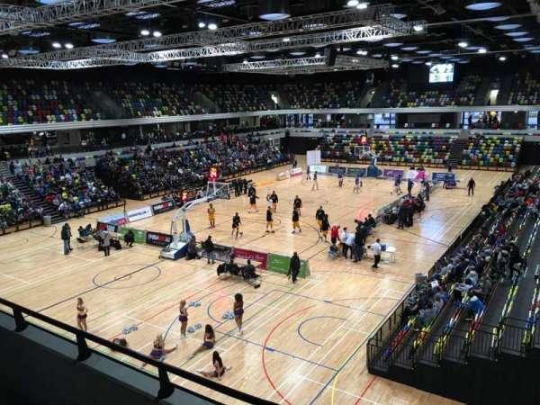 Copper Box Arena, Abschnitt: 206, Reihe: 12, Platz: 15