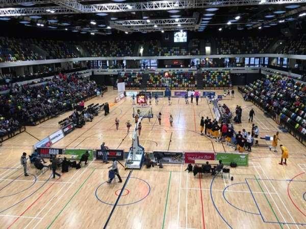 Copper Box Arena, Abschnitt: 207, Reihe: 12, Platz: 47