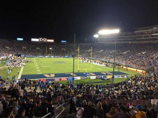 Rose Bowl, Abschnitt: 11-L, Reihe: 43, Platz: 22