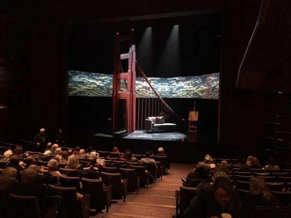 Suzanne Roberts Theatre, Abschnitt: Orch R, Reihe: M, Platz: 5