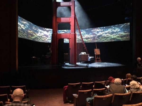 Suzanne Roberts Theatre, Abschnitt: Orchl, Reihe: H, Platz: 17