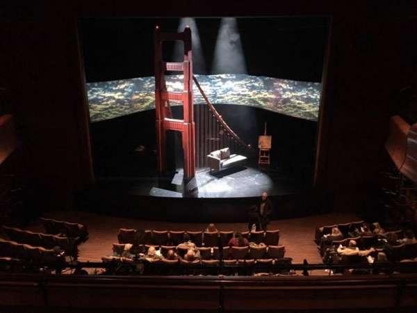 Suzanne Roberts Theatre, Abschnitt: Mezz, Reihe: C, Platz: 9