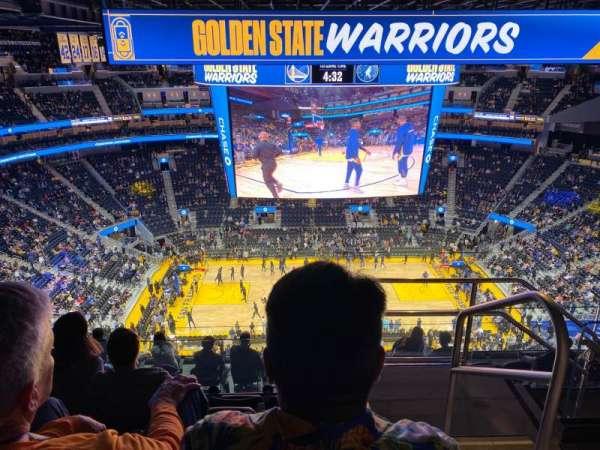 Chase Center Bereich 207 Heimat Von Golden State Warriors
