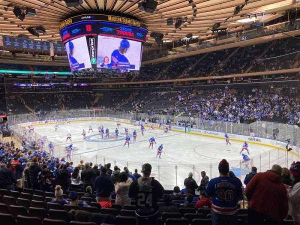 Madison Square Garden, Abschnitt: 120, Reihe: 18, Platz: 17
