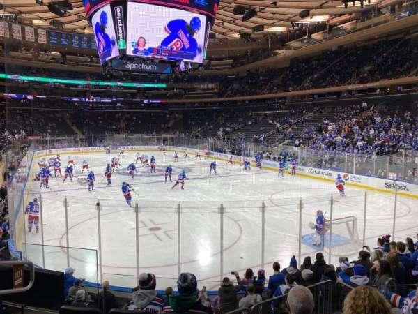 Madison Square Garden, Abschnitt: 101, Reihe: 10, Platz: 5