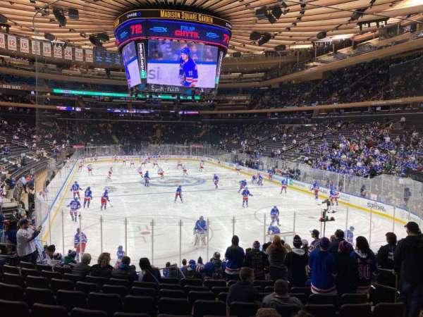Madison Square Garden, Abschnitt: 101, Reihe: 15, Platz: 15