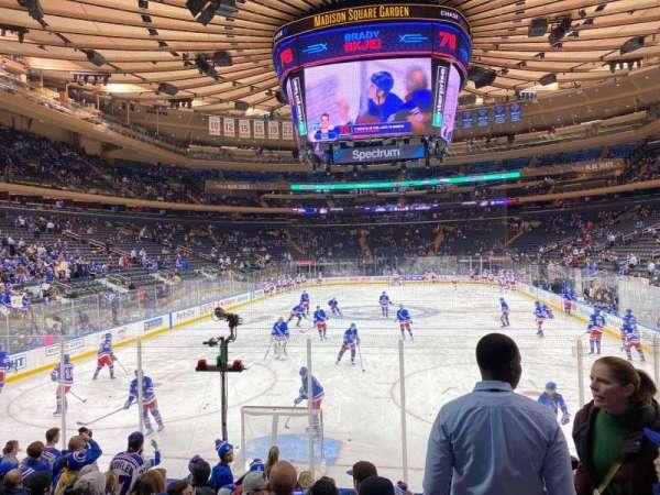 Madison Square Garden, Abschnitt: 102, Reihe: 8, Platz: 16