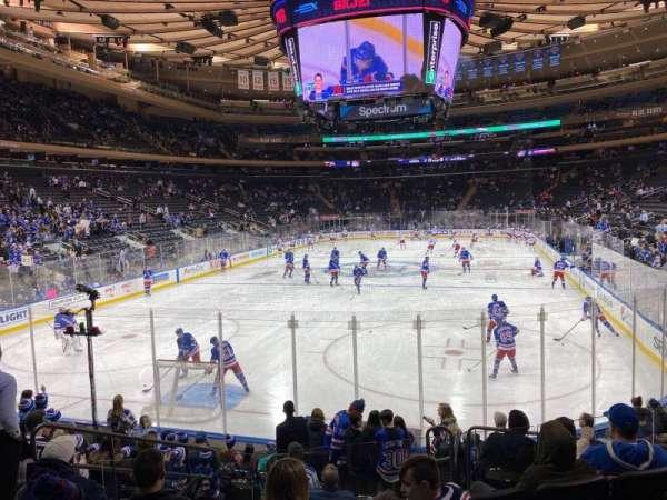 Madison Square Garden, Abschnitt: 103, Reihe: 10, Platz: 5