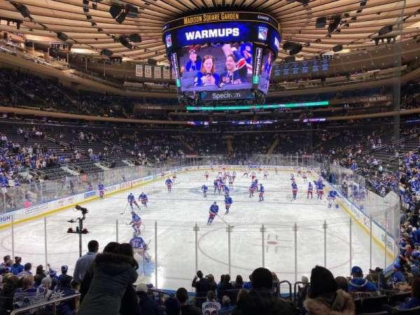 Madison Square Garden, Abschnitt: 103, Reihe: 12, Platz: 3