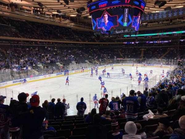 Madison Square Garden, Abschnitt: 104, Reihe: 15, Platz: 5