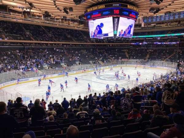 Madison Square Garden, Abschnitt: 104, Reihe: 21, Platz: 15