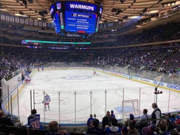 Madison Square Garden, Abschnitt: 111, Reihe: 11, Platz: 13