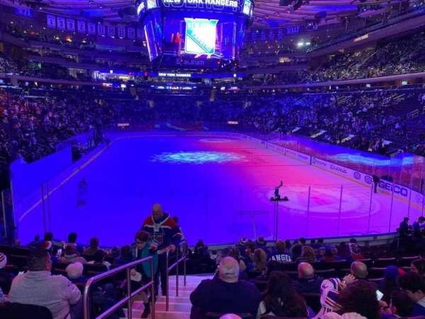 Madison Square Garden, Abschnitt: 112, Reihe: 14, Platz: 1