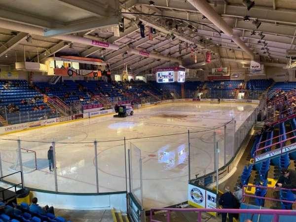1st Summit Arena, Bereich: 11, Reihe: K, Platz: 5