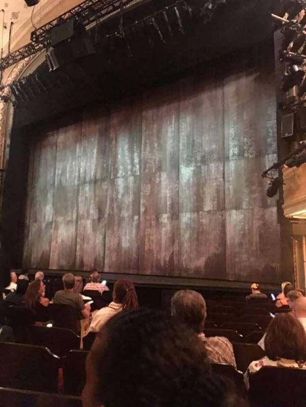 Bernard B. Jacobs Theatre, Abschnitt: ORCH, Reihe: K, Platz: 14