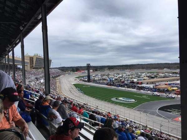 Atlanta Motor Speedway, Abschnitt: 245, Reihe: 58, Platz: 11