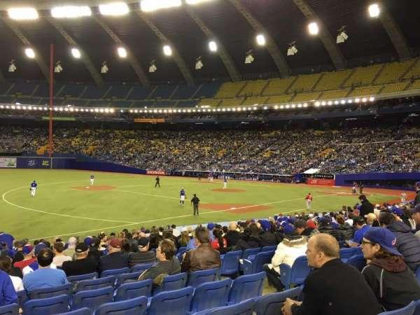 Olympic Stadium, Montreal, Abschnitt: 120, Reihe: SS, Platz: 6