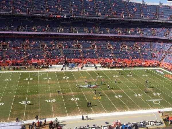 Broncos Stadium at Mile High, Abschnitt: 536, Reihe: 6, Platz: 14