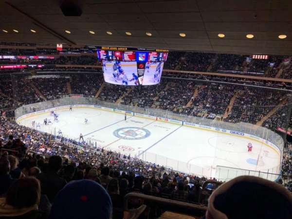 Madison Square Garden, Abschnitt: 213, Reihe: 14, Platz: 22