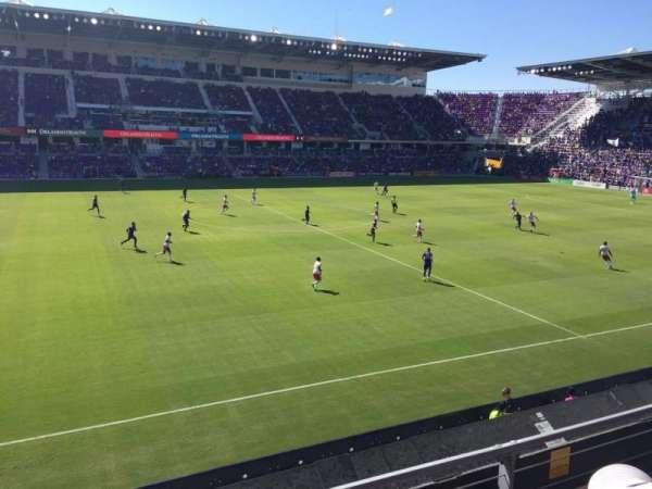 Orlando City Stadium, Abschnitt: 135, Reihe: 2, Platz: 22