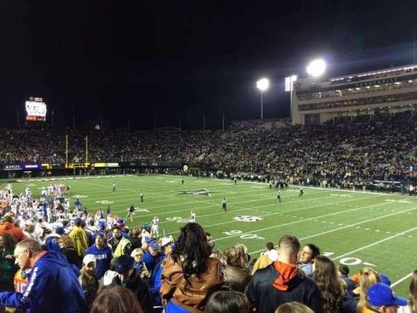 Vanderbilt Stadium, Bereich: U, Reihe: 11