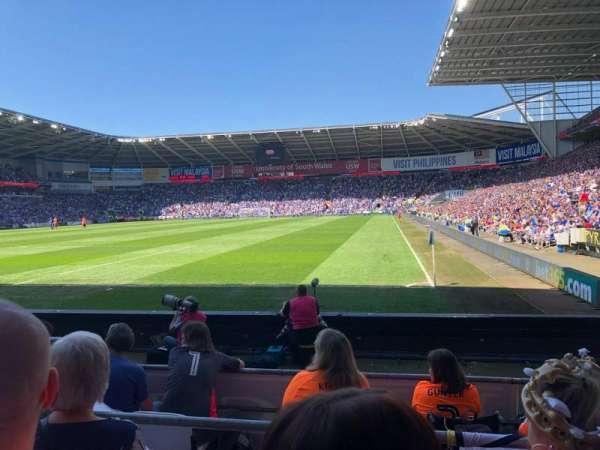 Cardiff City Stadium, Abschnitt: 122, Reihe: G, Platz: 106