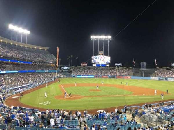 Dodger Stadium, Abschnitt: 116LG, Reihe: D, Platz: 5