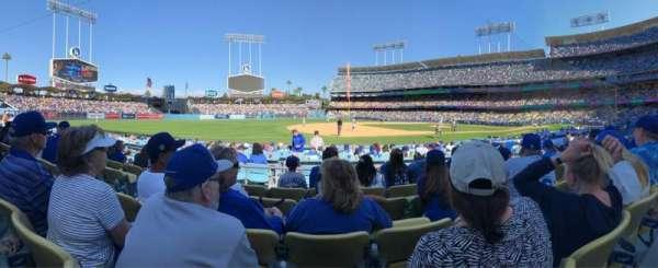 Dodger Stadium, Abschnitt: 29FD, Reihe: E, Platz: 5