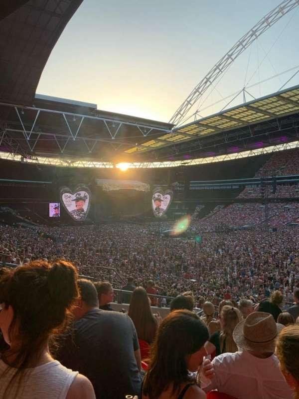 Wembley Stadium, Bereich: 118, Reihe: 40, Platz: 178
