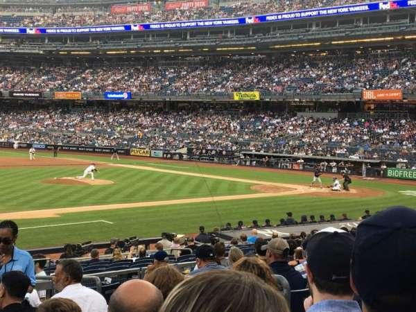 Yankee Stadium, Abschnitt: 126, Reihe: 10, Platz: 5