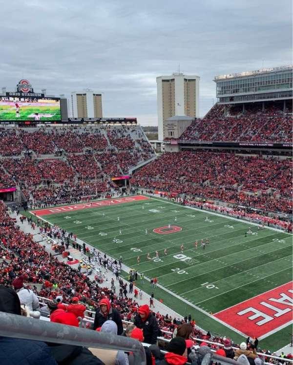 Ohio Stadium, Bereich: 10C, Reihe: 15, Platz: 31