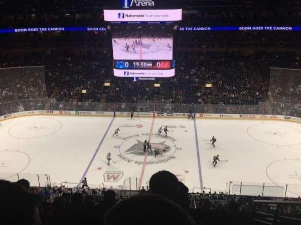 Nationwide Arena, Bereich: 203, Reihe: J