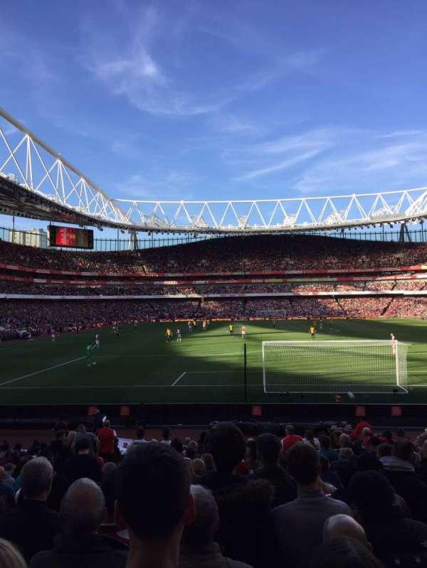 Emirates Stadium, Abschnitt: 25, Reihe: 14