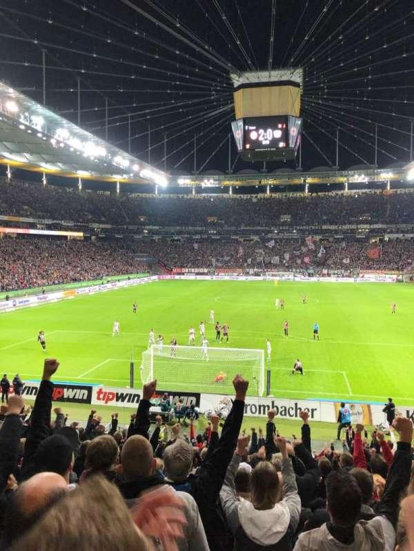 Commerzbank-Arena, Abschnitt: 16A, Reihe: 18, Platz: 12