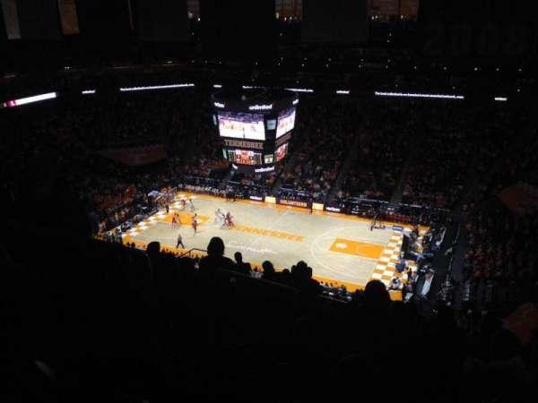 Thompson-Boling Arena, Abschnitt: 318, Reihe: 20, Platz: 10