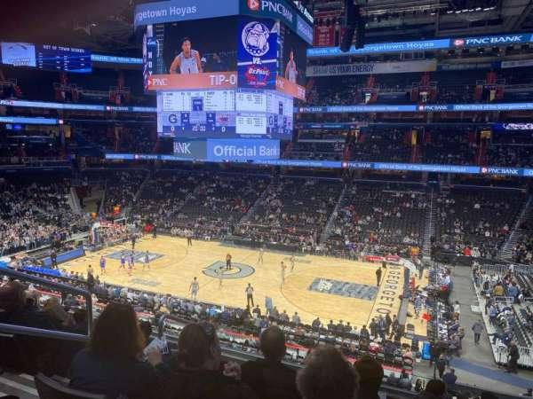 Capital One Arena, Abschnitt: 202, Reihe: F, Platz: 4