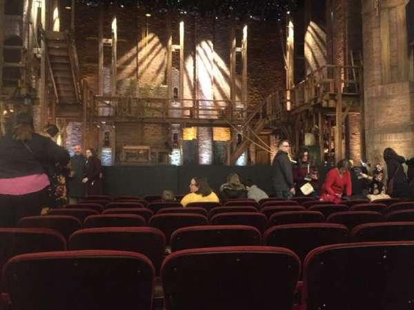 CIBC Theatre, Abschnitt: Orchestra C, Reihe: K, Platz: 103