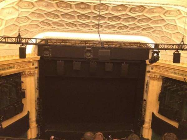 Hudson Theatre, Abschnitt: Balcony C, Reihe: E, Platz: 107