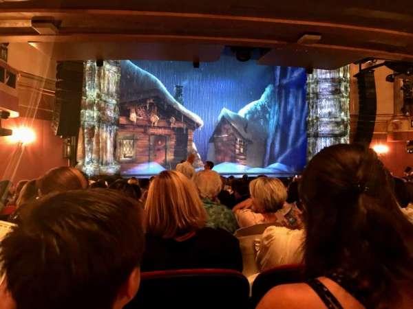St. James Theatre, Abschnitt: Orchestra L, Reihe: P, Platz: 15