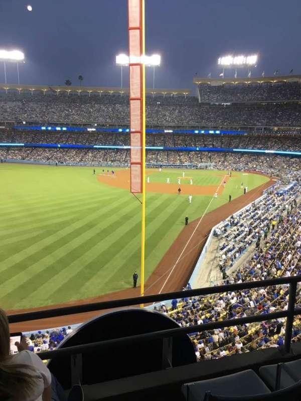 Dodger Stadium, Abschnitt: 257 Club, Reihe: C, Platz: 5