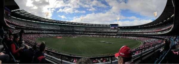 Melbourne Cricket Ground, Abschnitt: N23, Reihe: B, Platz: 10