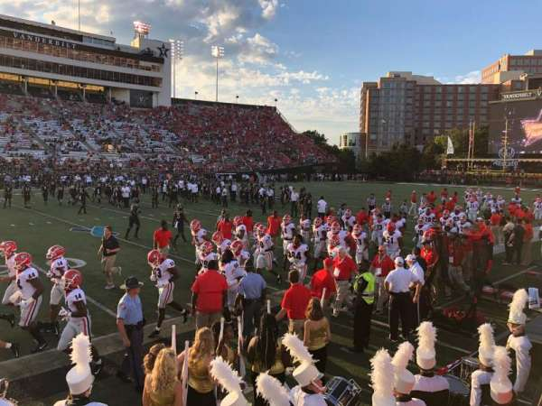 Vanderbilt Stadium, Bereich: P, Reihe: 6
